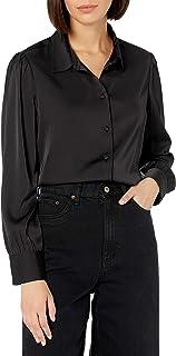 The Drop レディース @lucyswhims シルバークラウド 長袖 ボタンダウンシャツ