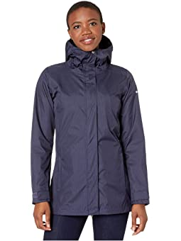 Women's Navy Rain Jackets