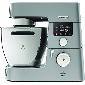 Kenwood Cooking Chef KM086 - Robot de cocina (13.6 kg, 410 mm, 335 mm) Acero inoxidable: Amazon.es: Hogar