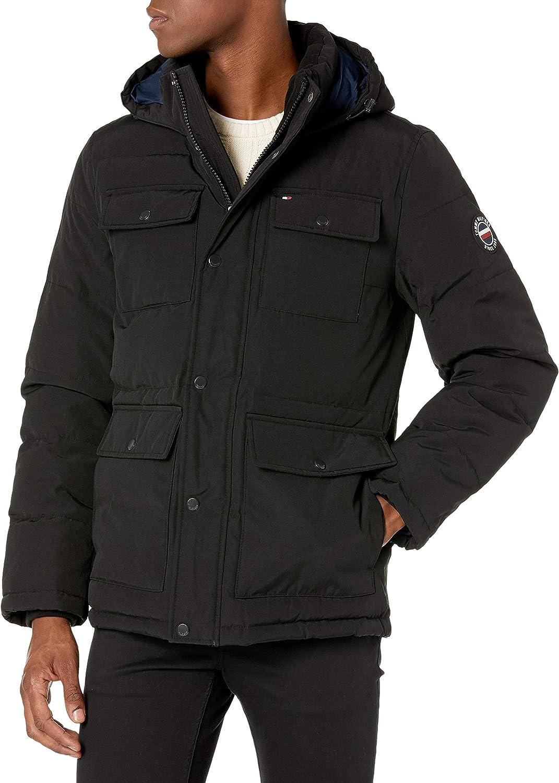 Tommy 5% OFF Hilfiger Max 42% OFF Men's Hagen Water Parka Hooded Resistant Jacket