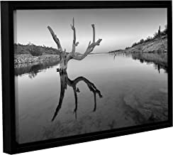 Scott Campbell's The Kings Hand 1 Bw, Gallery Wrapped Floater-Framed canvas 12x18