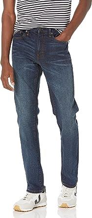 Amazon Essentials Homme Jean Slim Taille Haute