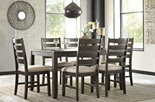 Gracie Oaks Chapdelaine 7 Piece Dining Set Kitchen Table and Chair Dining Set