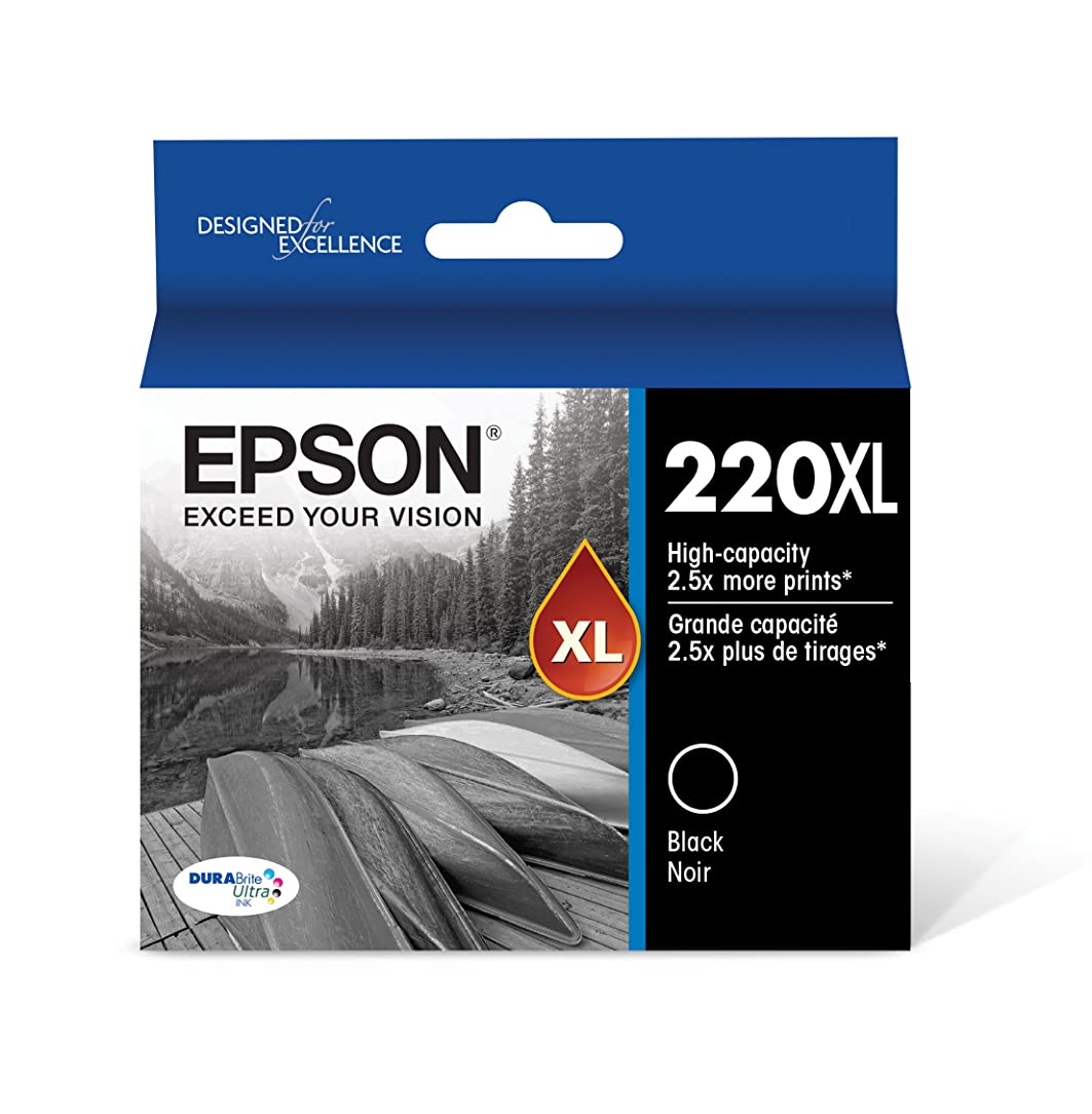 Epson T220XL120-S DURA Ultra Black High Capacity Cartridge Ink