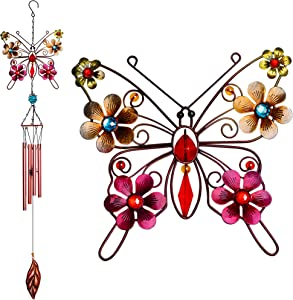 Alles Wind Chimes Butterfly Outdoor Indoor Decor 35