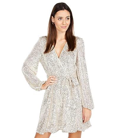 Bardot Sequin Belissa Dress (Rose Quartz) Women