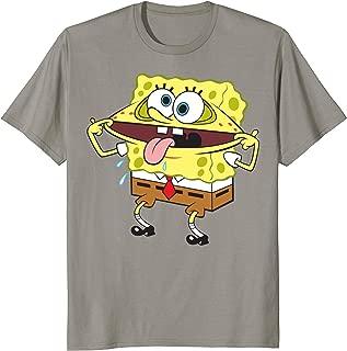Spongebob SquarePants Goofy Face Funny T-Shirt