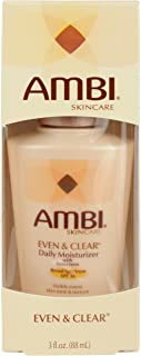 Ambi Even and Clear Daily Moisturizer with SPF 30, 3 Ounce
