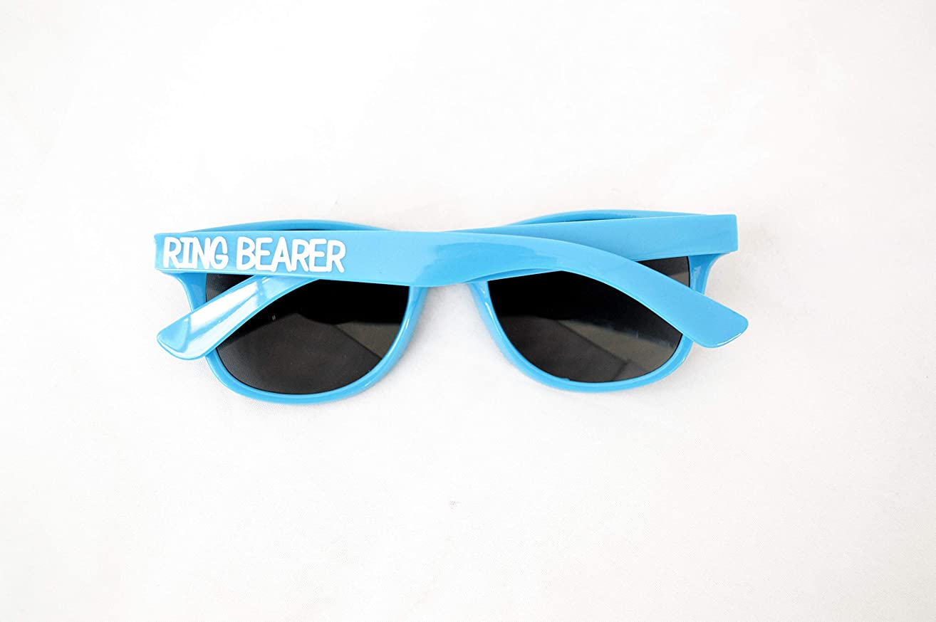 Ring Bearer Sunglasses | Boy Ring Security Proposal Gift | Wedding Party Glasses | Bridal Present