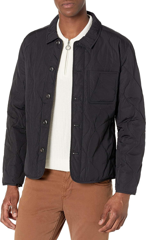 Billy Reid Men's 3 Lions Shirt Jacket