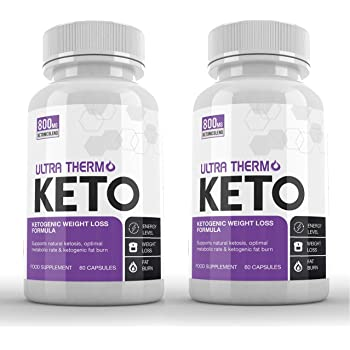 real keto thermo diet bottles