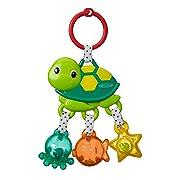 Infantino Jingle Sea Charms Turtle Rattle