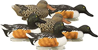 Higdon Outdoors Standard Shoveler Duck Decoys, Foam Filled