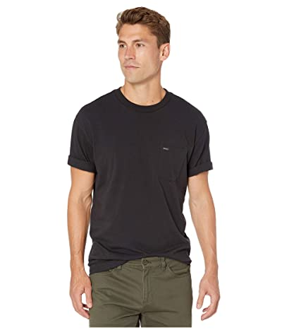 RVCA Day Shift Label Short Sleeve (Black) Men