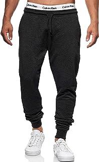 Indicode Pantalones de chándal para hombre de Eberline, de 95 % algodón, corte regular, pantalones de deporte para hombre,...