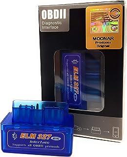 Mini ELM327 Interfaz V2.1 Bluetooth OBD-II OBD2 Auto coche