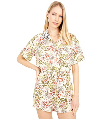 Volcom Sorry Babe Short Sleeve Shirt (Green Tea) Women