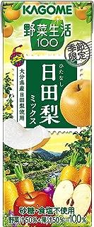 カゴメ 野菜生活100 日田梨ミックス 195ml ×24本