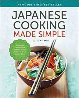 Japanese Cooking Made Simple: A Japanese Cookbook with Authe