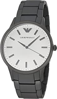 Emporio Armani Men's Three-Hand Black-Tone Stainless Steel Watch AR11259