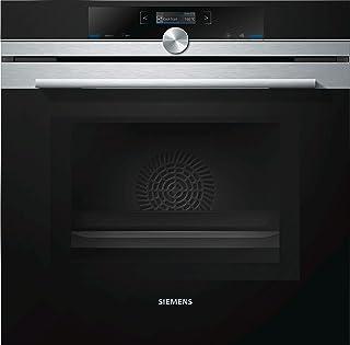 Siemens HM633GBS1 - Horno (Medio, Horno eléctrico, 67 L, 67 L, 900 W, Negro, Acero inoxidable)