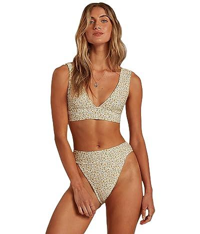 Billabong Summer Love Plunge Bikini Top (Cool Wip) Women