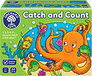 Orchard Toys Catch and Count Board Game, multi-colour