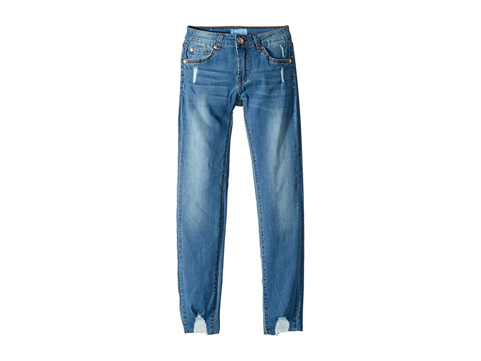 Image of 7 For All Mankind Kids B(Air) Skinny Jeans in Heritage Artwalk (Big Kids) (Heritage Artwalk) Girl's Jeans
