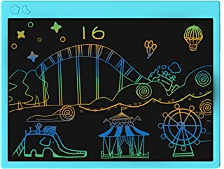 proffisy Colourful Screen LCD Writing Tablet 16 Inch USB Rechargeable Electronic Magnetic Doodle Scribble Board for Kids a...
