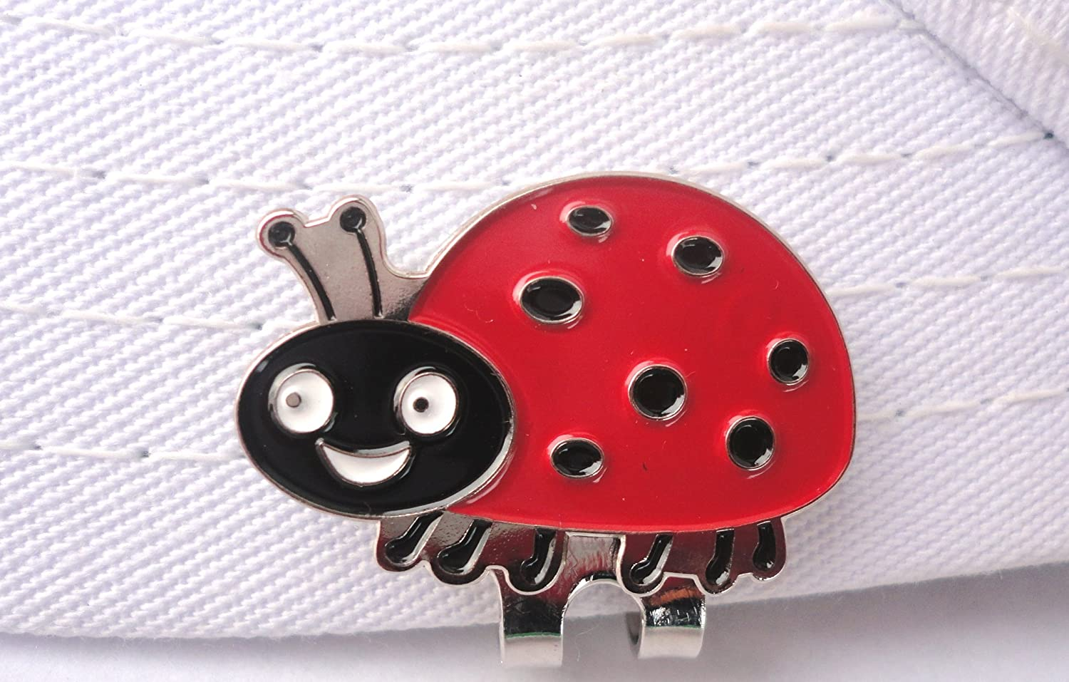 Lady Bug Popular products Golf Ball Marker overseas Clip Hat Magnetic and