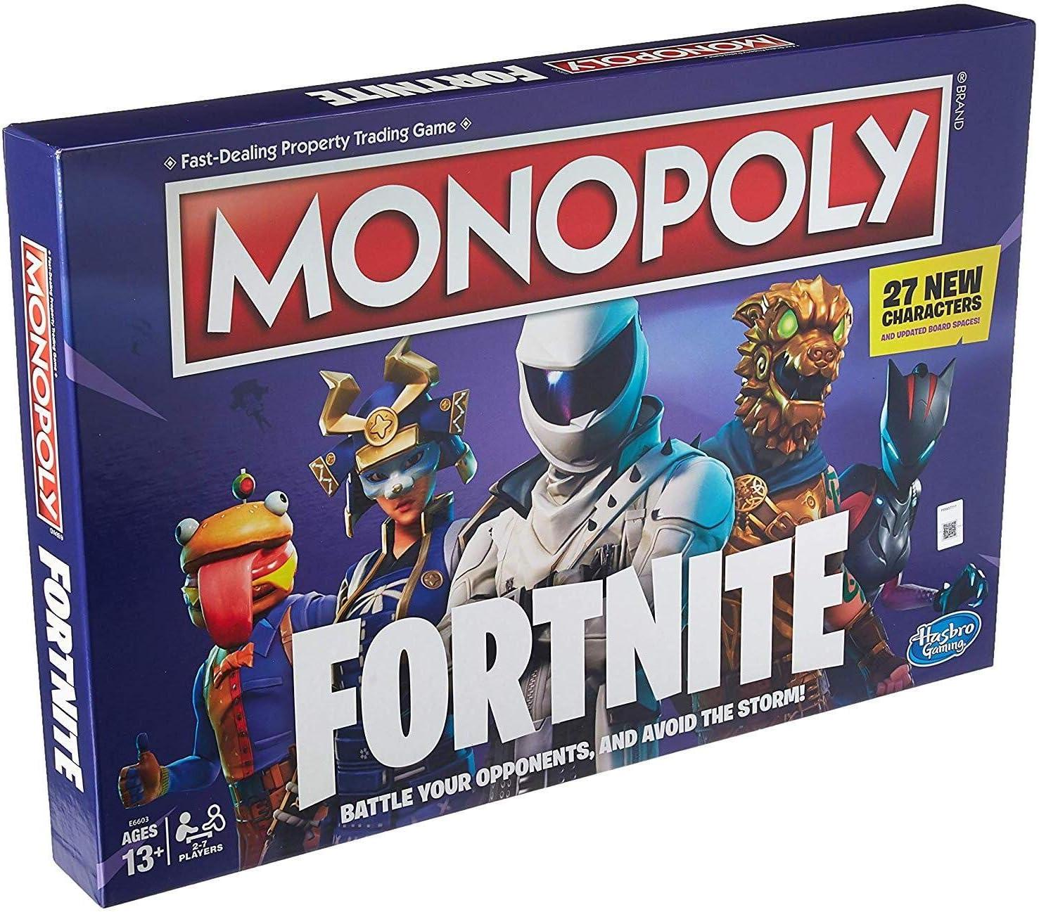 19. Monopoly: Fortnite Edition Board Game
