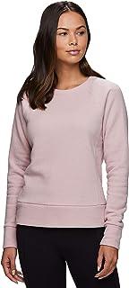 RBX Active Women's Crewneck Lightweight Super Soft Fleece Fashion Tunic Pullover Sweatshirt