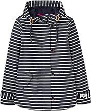 Joules Womens Coast Waterproof Hooded Printed Jacket