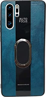 Huawei P30 Pro Compatible with Magnetic Back Magnet Shockproof Drop Protection Kickstand Cover with Stand and Ring for Hua...