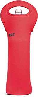 BUILT NY Built NY 1B-FM1 Insulated Neoprene Wine/Water Bottle Tote,  Formula 1 Red