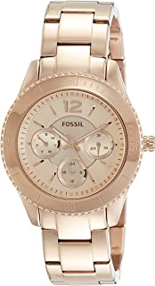 Fossil Women's ES3815 Stella Multifunction Rose Gold-Tone Stainless Steel Watch