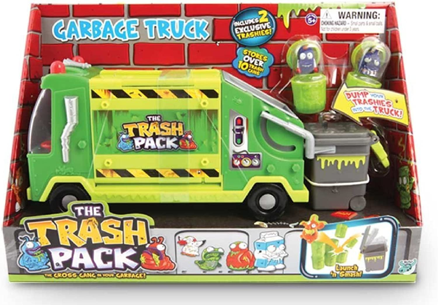 The Trash Pack – 17070 – Trashies Dump Truck – Camion Poubelle pour Trashies (Import Royaume Uni)