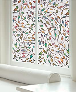 Artscape 02-3021 New Leaf Window Film, Clear, Etched, Textured, Multi Color