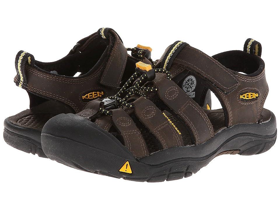 Keen Kids Newport Premium (Little Kid/Big Kid) (Dark Brown) Boys Shoes