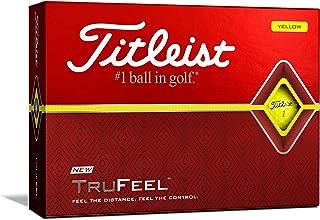 TITLEIST(タイトリスト) ゴルフボール TRUFEEL 1ダース (12個入り) 日本正規品