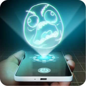 Troll Face Hologram Prank