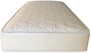 Naturepedic 2 in 1 Organic Cotton Ultra/Quilted Mattress,  Twin Trundle