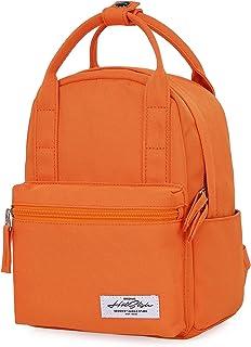 8811s Mochila Mini Tipo Bolso para Mujer, Naranja