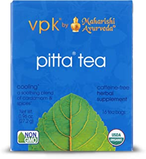 Cooling Organic Pitta Herbal Tea | 16 Tea Bags