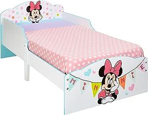 Hello Home Infantil para Niños Pequeños Sofá Cama, Madera, Blanco, 142x77x59 cm