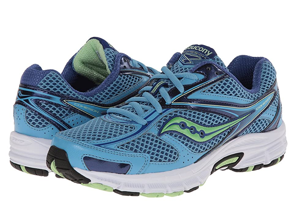 Saucony Cohesion 8 (Blue/Green) Women