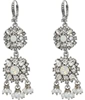 Marchesa - Lighter Than Air Double Drop Earrings