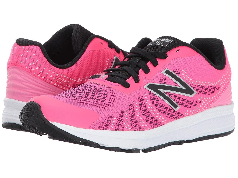 (ニューバランス) New Balance メンズランニングシューズ?スニーカー?靴 Rush (Little Kid) Pink/Black ピンク/ブラック 2 Little Kid (21cm) W