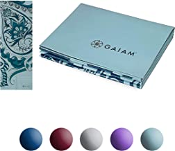 Gaiam Yoga Mat Folding Travel Fitness & Exercise Mat | Foldable Yoga Mat for All Types of Yoga, Pilates & Floor Workouts |...