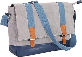 Tisomen Waterproof Crossbody Shoulder Bag School Satchel Casual Daily Messenger  Bag for Women and Men c2295b3c5d7b1